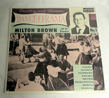Milton Brown & His Brownies: Country & Western Dance-O-Rama  [Still-Sealed Copy]