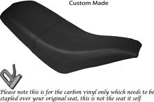 CARBON FIBRE VINYL CUSTOM FITS KAZUMA FALCON 110 150 250 ATV QUAD SEAT COVER