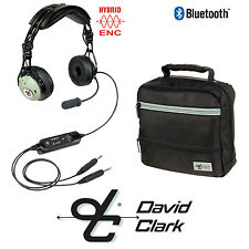 David Clark DC PRO-X ENC Aviation Headset Battery Power - GA Plug w/ Bluetooth