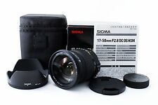 Sigma AF 17-50mm F2.8 f/2.8 EX DC OS HSM for Nikon w/Hood t from Japan #147775