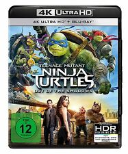 4K UHD Blu-ray * TEENAGE MUTANT NINJA TURTLES - OUT OF THE SHADOWS # NEU OVP +