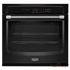 """Maytag 30"""" Black Electric Wall Oven MEW7530DE"""