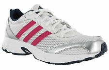 Adidas Vanquish 6 Womens White Pink Mesh Running Sports Trainers Shoes UK5.5