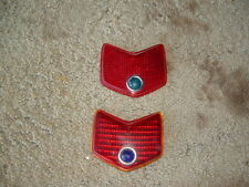 1940 FORD Tail light lens, BLUE DOT, ratrod,hotrod,streetrod,flathead,221,59ab
