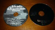 Shady Aftermath Sampler PROMO Music CD Obie Trice Eminem 50 Cent Brooklyn 6 Rap