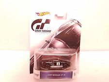 Hot Wheels 2009 Nissan GT-R Gran Turismo Retro Entertainment