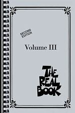 NEW The Real Book, Volume III by Paperback Book (English) Free Shipping