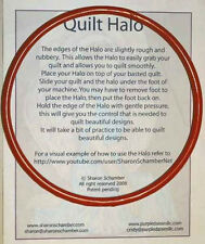 Quilt Halo Fabric Guide for Free Motion Machine Quilting by Sharon Schamber NEW!