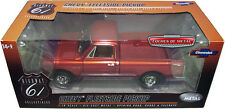 CHEVROLET CST-10 FLEETSIDE PICKUP 1972 RED METAL HIGHWAY61 50906 1/18 pick up