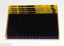 Microfich Ersatzteilkatalog Mazda 323 F Modelle 1995 -  Stand 05/1996