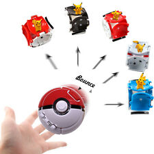 Pokemon Bounce Great Ball & Pikachu Monster Cosplay Pop-up Go Fighting Ball Toy