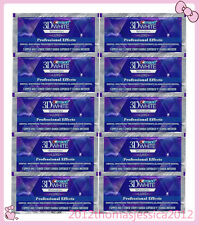 Crest 3D WHITE Whitestrips LUXE Professional Effects 10 Pouches 20 strips