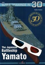 The Japanese Battleship YAMATO - Super Drawings in 3D - Kagero ENGLISH