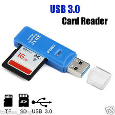 PRO 5Gbps Super Speed USB 3.0 Micro SD/SDXC TF Kartenleser Card Reader Adapter