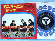 "THE MONKEES Theme From The Monkees SS-1735 JAPAN 7"" 044az41"