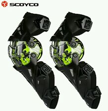 SCOYCO K-12 MOTORCYCLE KNEE PROJECTOR& MOTOCROSS RACING KNEE GUARD-MOVE freely