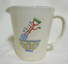 """Cloverleaf Pottery Earthenware Measuring Traditional English Pitcher 5"""" tall"""