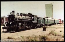 Gold Coast Railway 4-6-2 Pacific #153 steam locomotive railroad train postcard