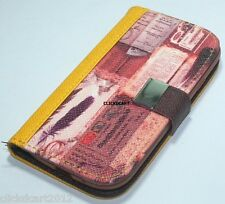 Flip PU Leather Wallet Case With Screen Protector For Galaxy S3 i9300