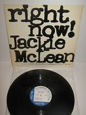 JACKIE McLEAN – Right Now! – vinyl LP like new!