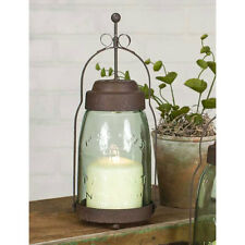 Quart Mason Jar Butler Lantern Light in Rustic Brown by CTW Home