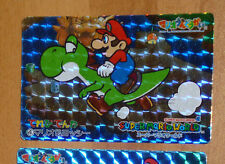 SUPER MARIO WORLD BANPRESTO CARDDASS CARD PRISM CARTE 4 NITENDO JAPAN 1993 **