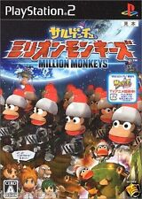 Used PS2 Sarugetchu Million Monkeys  SONY PLAYSTATION JAPAN IMPORT