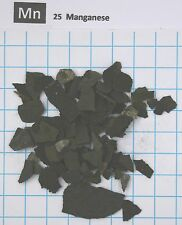 1 troy ounce (31,1 gram) Manganese metal pieces  99,85% - Element 25 sample