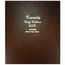 Dansco Coin Album 8167 Kennedy Half Dollar 2012-2016S