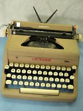 Vintage 1956 ROYAL Quiet Deluxe Portable Typewriter w/ Case Instruction Manual