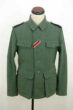 WWII German M42 elite EM field wool tunic Feldbluse XL