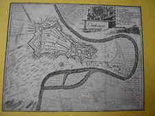 Plan 18e de la ville de LIMBOURG Belgique