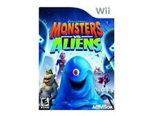 Monsters Vs Aliens Wii Game
