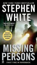 White, Stephen Missing Persons (Dr. Alan Gregory Novels) Very Good Book