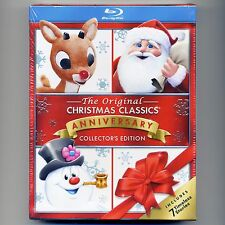 7 Christmas TV specials, new Blu-rays, remastered Mr. Magoo Rudolph Frosty Santa