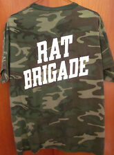 RAT BRIGADE tee Born to Be A Soldier camouflage 5-3-2 sergeant T shirt army XL