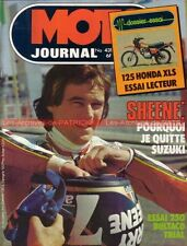 MOTO JOURNAL  431 HONDA XLS 125 XL S BULTACO SHERPA 250 OSSA Graham NOYCE 1979