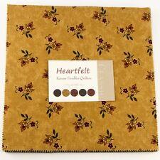 Moda Fabric-Heartfelt By Kansas Troubles-Layer Cake - Pre Cut Fabric