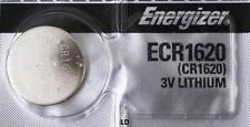 Energizer ECR1620 CR1620 DL1620 Lithium 3V Battery Brand New Authorized Seller