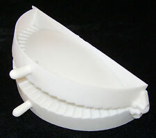 "NEW MEAT PIE MAKER FILLED CORNISH PASTY PATTY HINGED MOULD PRESS 5.5"" 14cm CARD"