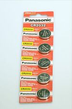 5x PANASONIC CR2032 3V LITHIUM COIN BATTERY LOWEST PRICE ON EBAY FREE SHIPPING