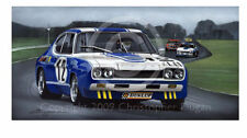 FORD COLOGNE CAPRI RS 2600 SPA 24 DIETER GLEMSER 1971 NEW PAINTING PRINT ARTWORK