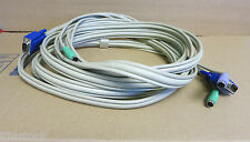 Adder KVM Switch Cable VGA Male to VGA Male and 2 x PS/2