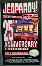 """NINTENDO NES """"JEOPARDY 25TH ANNIVERSARY EDITION"""" CARTRIDGE ONLY"""
