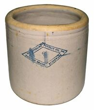 【RARE】Vintage 20's Diamond Brand #3 Gallon Pittsburg Pottery Crock/Pickle Jar!