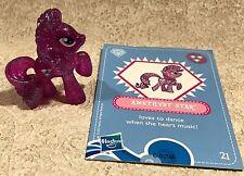 My Little Pony Amethyst Star Crystal Mini Pony Figure w/Card Blind Bag 21 Wave 4