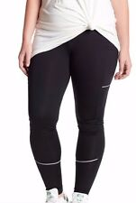 Zella Nordstrom Fast Pace Run Legging in Black size 3X 22-24 NEW