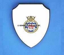 FLAG OFFICER SEA TRAINING (FOST) WALL SHIELD (FULL COLOUR)