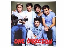 OFFICIAL LICENSED ONE DIRECTION GUITAR CANVAS PICTURE ON WOOD FRAME 40X40X2CM