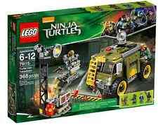 LEGO® Teenage Mutant Ninja Turtles 79115 Turtle Van Takedown NEU NEW MISB NRFB